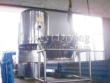 High-Efficiency Fluidizing Dryer (Fluid Bed)